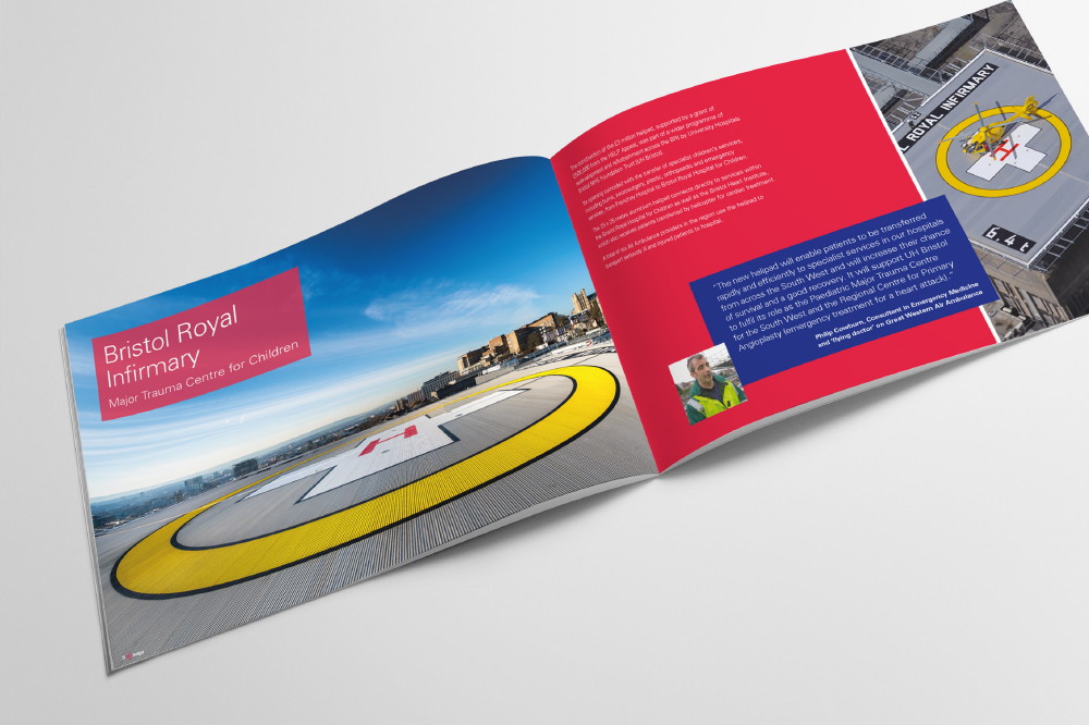 COUNTY AIR AMBULANCE, HELP APPEAL BROCHURE
