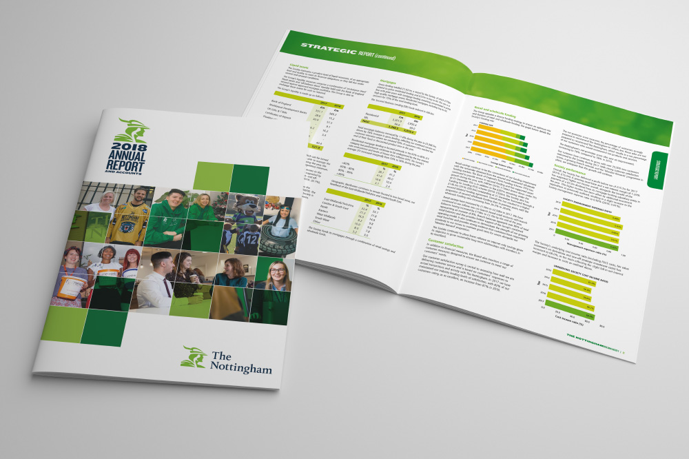 The Nottingham Building Society annual report