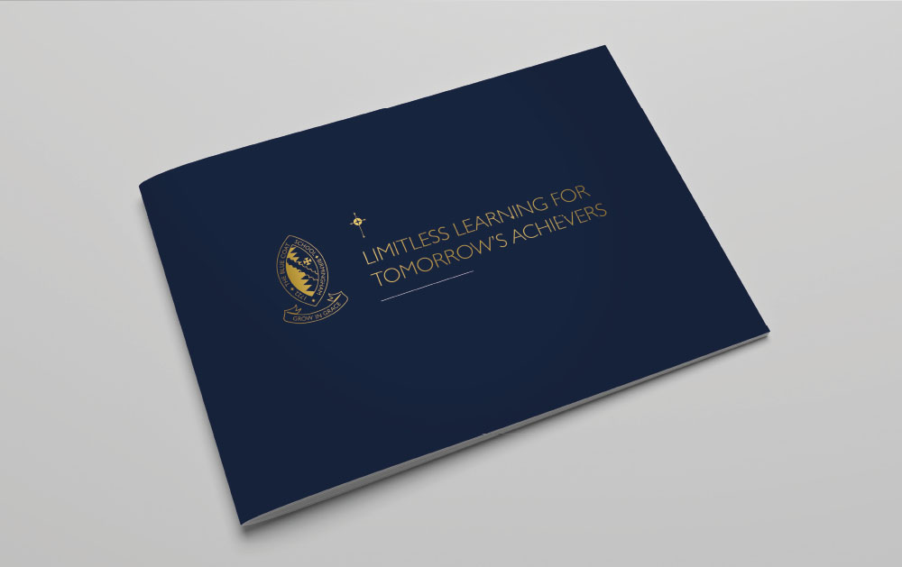 Bluecoat school prospectus cover