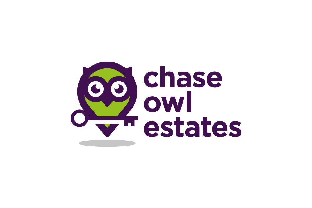 CHASE OWL ESTATES, BRANDING, LOGO DESIGN