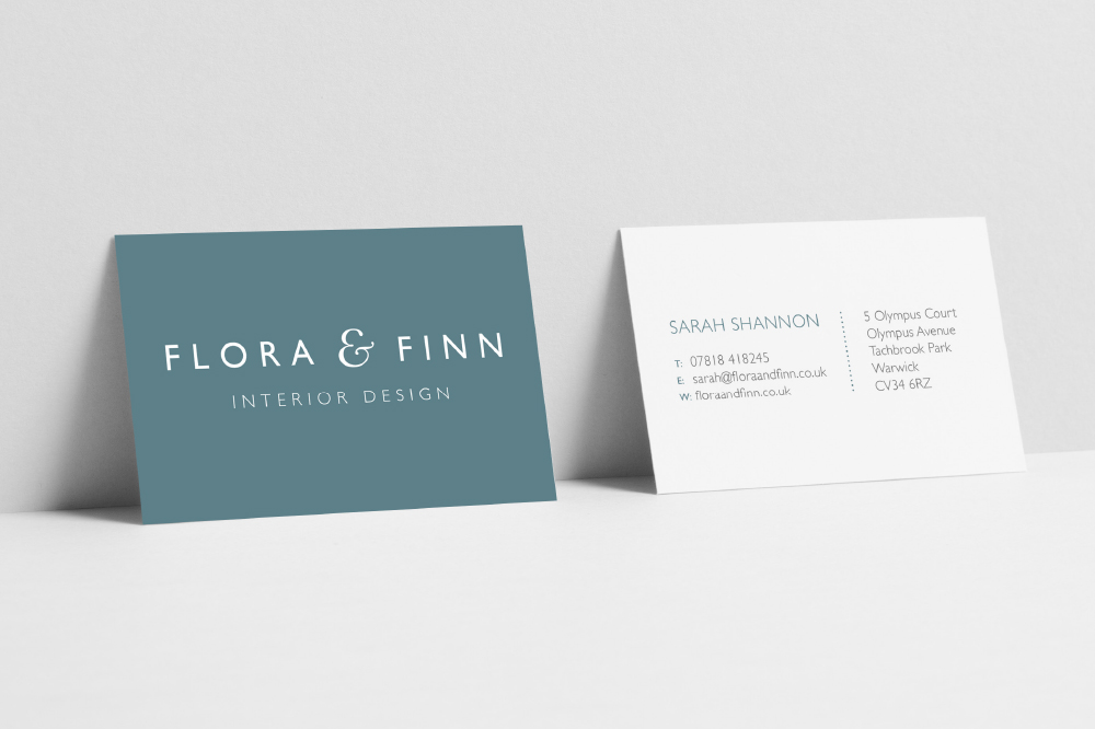 INTERIOR DESIGN, BRANDED BUSINESS CARDS