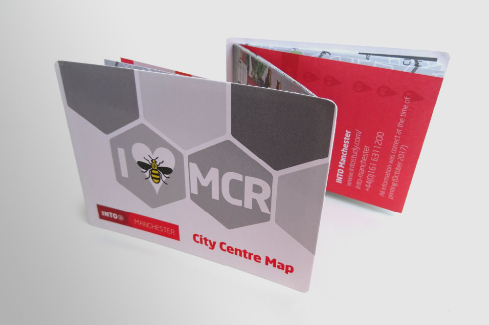 INTO MANCHESTER MAP